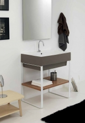 Итальянские постирочные раковины Мебель и оборудование для постирочной комнаты. Colavene LAUNDRY & BATH VOLA WASH BASIN SIENA COLOR мебель раковина 60 см