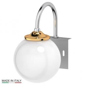 Светильники для ванной комнаты. Светильник для зеркала хром-золото 40W 3SC STILMAR STI 125