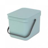 Мусорные баки и вёдра для кухни. Ведро для мусора SORT&GO 6л
