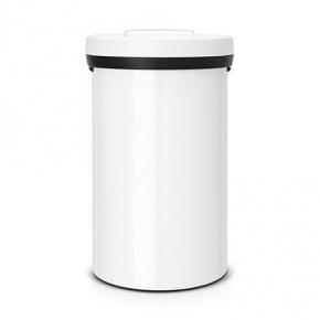 Мусорные баки и вёдра для кухни. Мусорный бак BIG BIN 60 литров White белый