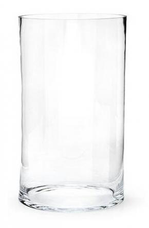 Вазы. Ваза TUBE стеклянная 35 см
