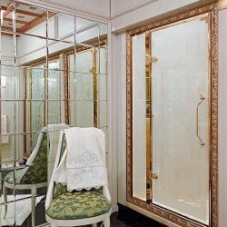 Душевые кабины Створки стеклянные Шторки для душа. Lineatre Princess PM1600A Душевая дверь в нишу 160хh200 см