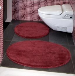 Коврики для ванной на заказ из Германии индивидуального дизайна и размера. Sylt коврик для ванной комнаты круглый Nicol