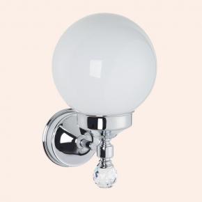 """Светильники для ванной комнаты. Бра со стеклянным плафоном """"шар"""" (комплект), стекло: матовое TW Crystal TWCR130cr/sw"""