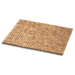 Деревянные коврики и решётки для душа и ванной комнаты. Деревянный коврик для ванной Тиковый Cespi