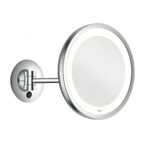 Зеркала косметические с подсветкой увеличением настенные настольные Зеркала с присосками. ALISEO LED CITY LIGHT косметическое зеркало с подсветкой и увеличением х3 настенное