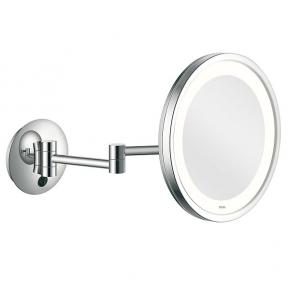 Зеркала косметические с подсветкой увеличением настенные настольные Зеркала с присосками. ALISEO LED CITY LIGHT косметическое зеркало с подсветкой и увеличением х3 настенное двухколенный шарнир