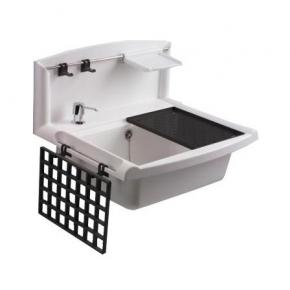 Итальянские постирочные раковины Мебель и оборудование для постирочной комнаты. SANIT Многофункциональная мойка 55x45xh41,3 см