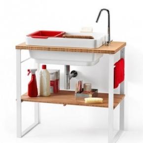 Итальянские постирочные раковины Мебель и оборудование для постирочной комнаты. Mastela LineaBeta мебель постирочная раковина