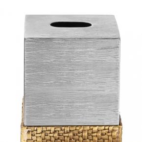 . Michael Aram Пальмовая ветвь салфетница металлическая куб настольная