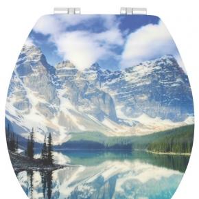 . ROCKY MOUNTAINS сиденье с крышкой для унитаза 3D декор