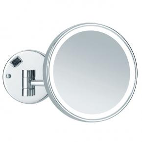 .   MAYLA Nicol косметическое зеркало с подсветкой LED и пятикратным увеличением настенное