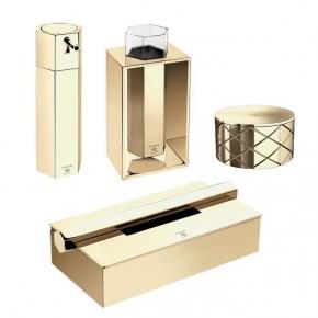 . Mirage Gold аксессуары для ванной золотые PomdOr
