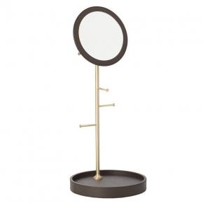 Зеркала косметические с подсветкой увеличением настенные настольные Зеркала с присосками. Arborea настольное зеркало с лотком и держателями Латунь