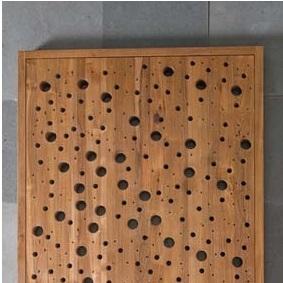 Деревянные коврики и решётки для душа и ванной комнаты. Деревянная решётка для душа/Душевой поддон Тик BYBBLES