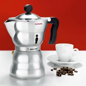 Кофеварки. Кофеварка для эспрессо Moka Alessi