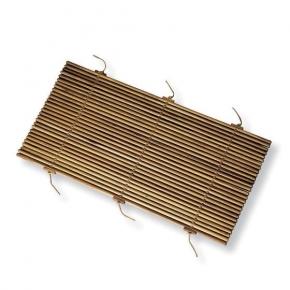 Деревянные коврики и решётки для душа и ванной комнаты. Коврик для ванной тиковый деревянный Teak 90х55