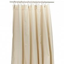 Шторки для душа и ванны текстильные. Текстильные шторки для ванны и душа Бежевая Beige