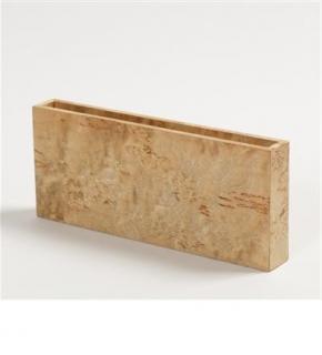 Аксессуары и Мебель для дома. Wood Collection деревянные аксессуары для рабочего стола карандашница Карельская берёза