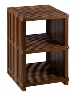 Этажерки для ванной. Finn напольная этажерка для ванной деревянная с 3-мя полками
