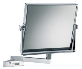 . Frauke Nicol косметическое зеркало настенное прямоугольное двухстороннее с увеличением 1х1 и 1х3