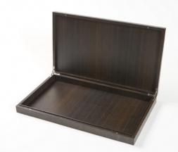 Аксессуары и Мебель для дома. Wood Collection Box деревянная шкатулка для iPad и пультов Дуб большая
