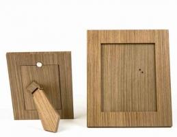 Мебель и Аксессуары для ванной из натурального дерева, Раттана и Бамбука. Wood Collection Frame рамка для фотографий деревянная Орех