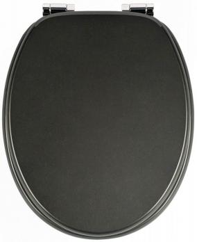 Сиденья для унитаза с крышкой. MARLON чёрное сиденье для унитаза металлик с микролифтом