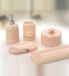 Аксессуары для ванной настольные.  Marmores Natura RP мраморные аксессуары для ванной настольные