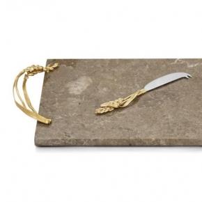 . Доска для сыра с ножом 48 см «Золотая пшеница»