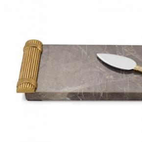. Доска для сыра с ножом 41 см «Золотая пшеница»