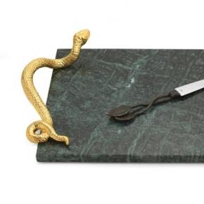 . Доска для сыра с ножом 46см