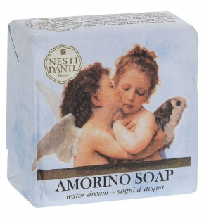 Luxury Гель для душа Мыло. Nesti Dante Amorino Soap Sogni D'Acqua Мыло Мечта о море 150 гр