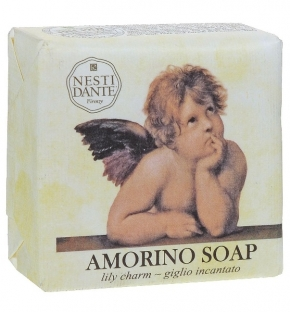 Luxury Гель для душа Мыло. Nesti Dante Amorino Soap Giglio Incantato Мыло Нежность лилии 150 гр