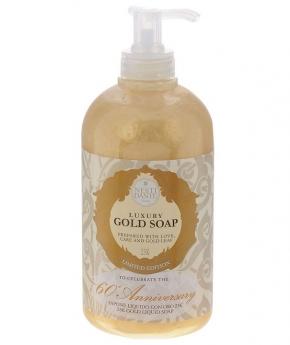 Luxury Гель для душа Мыло. Nesti Dante Anniversary Gold Soap Luxury Жидкое мыло Юбилейное золотое 500 мл