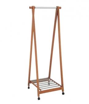 Сушилки для белья. Мебель для постирочной комнаты деревянная сушилка для белья высокая на роликах