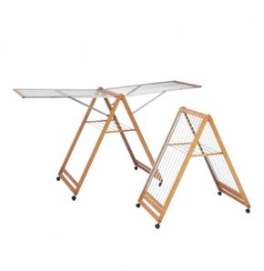 Сушилки для белья. Мебель для постирочной комнаты деревянная сушилка для белья складная