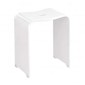 Банкетки для ванной Пуфы Интерьерные Табуреты для ванной и душа Откидные сиденья. Ben Nicol акриловый табурет для ванной комнаты и душа белый