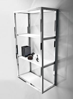 Этажерки для ванной. Стеклянная полка для ванной этажерка подвесная 4 полки