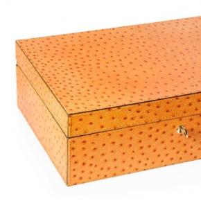 Боксы для часов и украшений Шкатулки Deluxe. Шкатулка для часов и ювелирных украшений отделка
