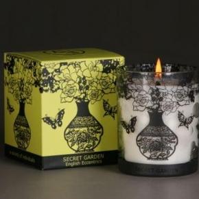 Ароматические свечи Парфюм для дома Диффузоры. Ароматическая свеча Секретный сад