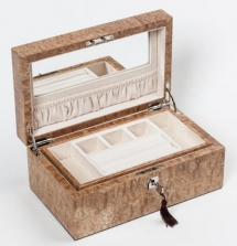 Мебель и Аксессуары для ванной из натурального дерева, Раттана и Бамбука. Wood Collection бокс для украшений деревянный Ясень японский