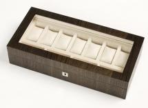 Мебель и Аксессуары для ванной из натурального дерева, Раттана и Бамбука. Wood Collection бокс для часов и украшений деревянный Дуб