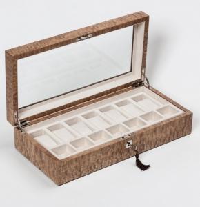 Аксессуары и Мебель для дома. Wood Collection бокс для часов и украшений деревянный Ясень японский