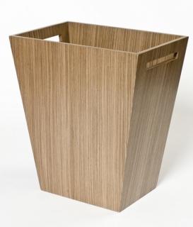Аксессуары для кабинета Deluxe. Wood Collection ведро деревянное Орех большое