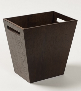 Аксессуары для кабинета Deluxe. Wood Collection ведро деревянное Дуб тёмный