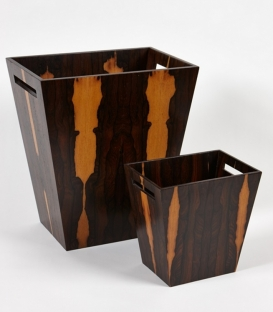 Аксессуары для кабинета Deluxe. Wood Collection ведро деревянное Зирикоте