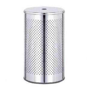 . WASH BOX Nicol Корзина для белья с крышкой металлическая круглая