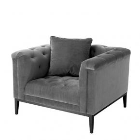 Кресла. Eichholtz Chair Cesare кресло серое