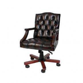 Офисные кресла и стулья. Eichholtz Desk Gainsborough офисное кресло на роликах